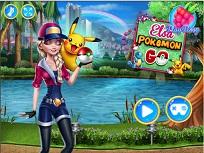Joaca Pokemon Go cu Elsa