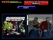 Joc de Memorie cu Gardienii Galaxiei