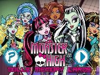 Joc de Memorie cu Monster High