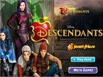Jocuri cu Descendentii
