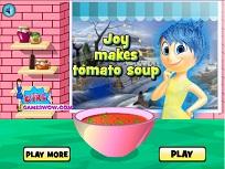 Joy si Supa de Rosii
