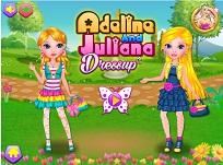 Juliana si Adeline de Imbracat