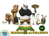 Kung Fu Panda Litere Ascunse