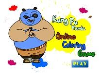 Kung Fu Panda de Colorat