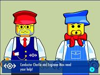 Lego Asambleaza Trenul