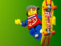 Lego Concursul de Skateboarduri