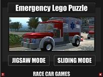 Lego Puzzle cu Ambulanta