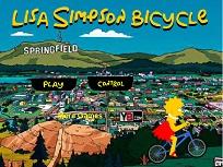 Lisa Simpson cu Bicicleta
