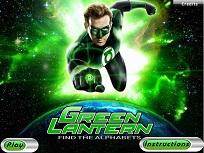 Litere Ascunse cu Lanterna Verde
