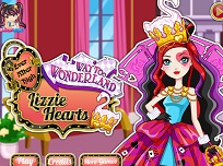 Lizzie Hearts Stilul Wonderland