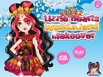 Lizzie Heart la Machiaj