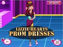 Lizzie Hearts la Petrecere