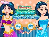 Machiajul Printesei Jasmine