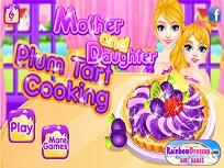 Mama si Fiica si Tarta cu Prune
