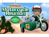 Manny Iscusitul pe Motocicleta