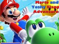 Flappy Mario si Yoshi