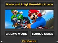 Mario si Luigi cu Motocicletele
