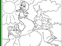 Masha si Ursul Fericiti