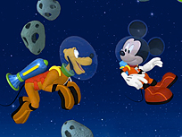 Mickey Mouse Aventura in Spatiu