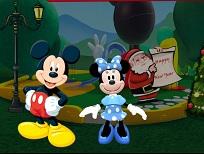 Mickey si Minnie si Petrecerea de Anul Nou