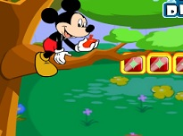 Mickey Mouse Se Joaca Cu Baloanele