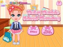 Micuta Barbie la Scoala