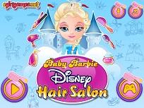 Micuta Barbie si Coafurile Disney