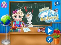 Micuta Elsa la Scoala