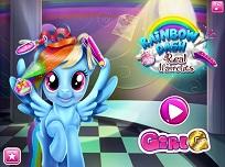 Micuta Rainbow Dash de Coafat