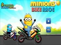 Minionii cu Motocicletele