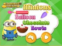 Minioni si Baloanele de Ciocolata