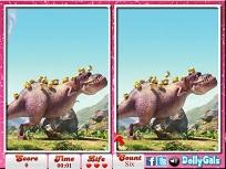 Minionii si Dinozaurul Diferente