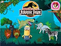 Minionii in Jurassic Park