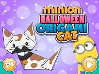 Minionul si Pisicuta Origami