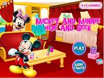 Minnie si Mickey De-a V-ati Ascunselea