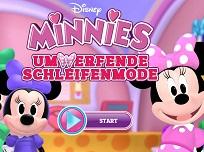 Minnie Moda Sclipitoare cu Fundite