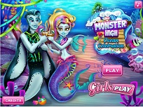 Monster High Sarbatoare in Ocean