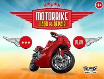 Motocicleta de Spalat si Reparat