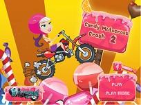 Motocicleta din Lume Dulciurilor