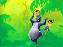 Mowgli si Baloo Puzzle