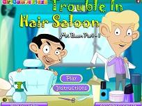 Mr Bean la Frizer