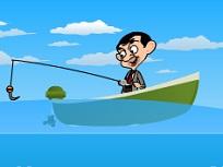 Mr Bean la Pescuit