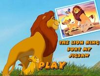 Puzzle Mufasa si Simba