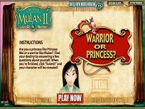 Mulan Printesa sau Razboinica