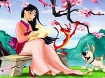 Mulan si Mushu Puzzle