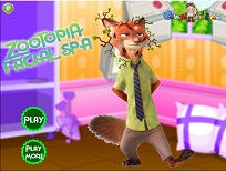 Nick Wilde la Spa