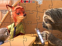 Nick si Judy Puzzle
