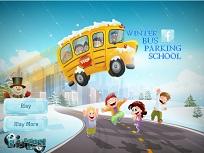 Parcheaza Autobuzul Scolii Iarna