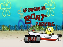 Parcheaza Barca cu Spongebob