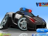 Parcheaza Masina V8 de Politie